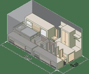 Storage Shed 6m x 3m