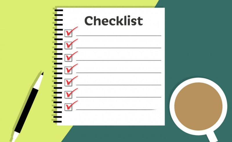 Forrestfield Self-Storage Check List