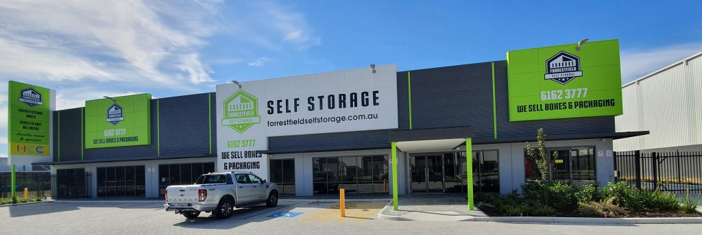 Self-storage near Perth airport